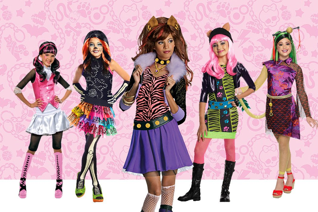 Monster High Costume Ideas & Face Paint | Party Delights Blog