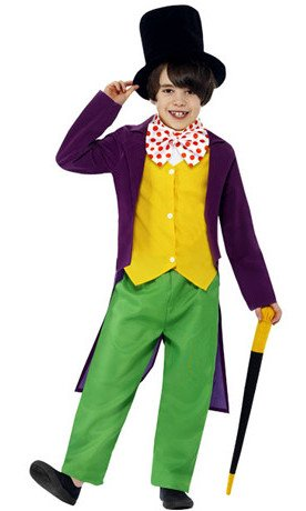 Willy Wonka Fancy Dress