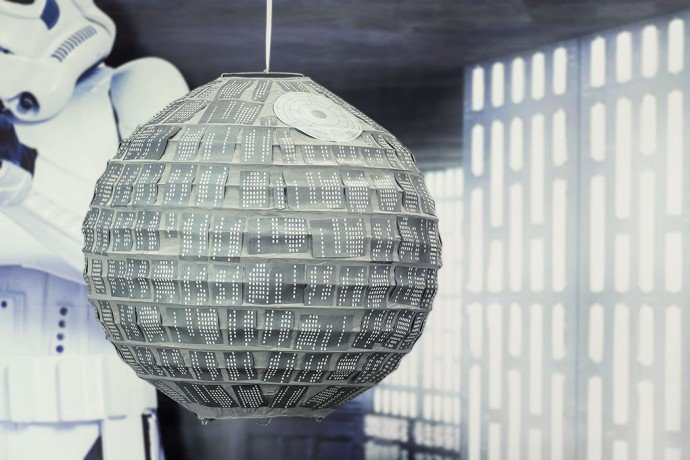 Star Wars Death Star Lantern Printables