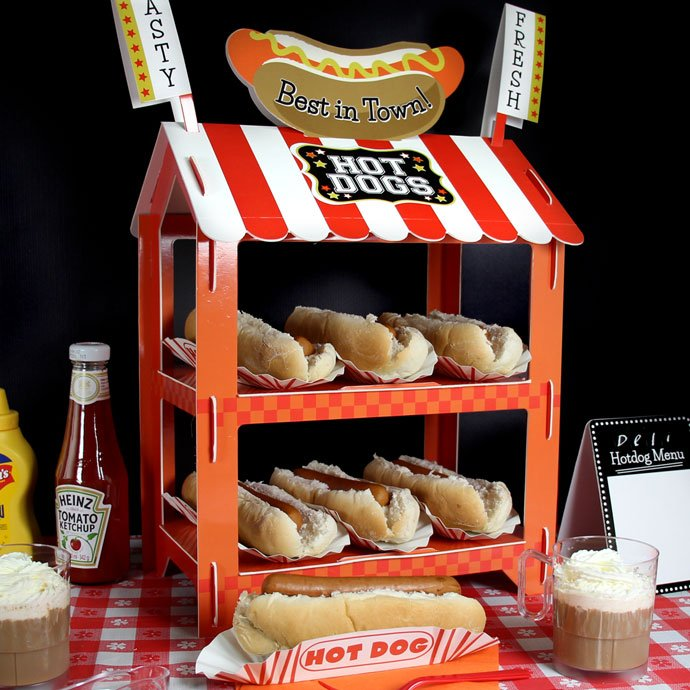 Guy Fawkes' Night Hot Dog Stand