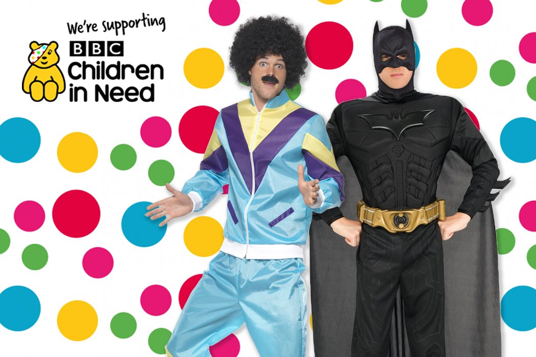 Supporting the bbc s children in need by dressing up in fancy dress