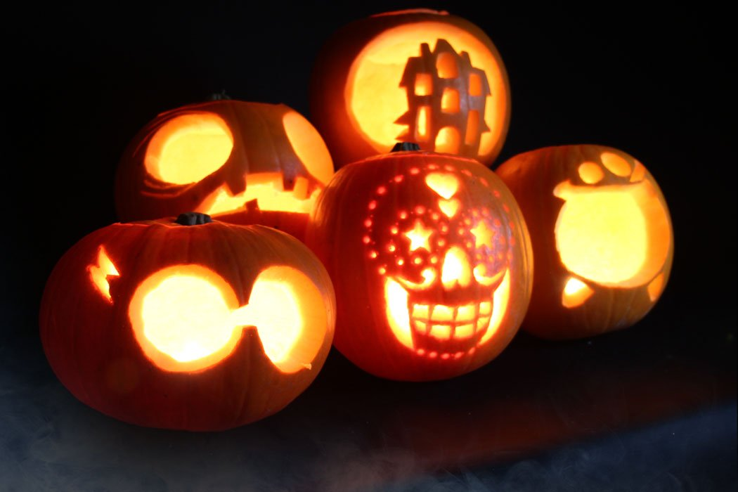 Easy pumpkin carving ideas with stencils party