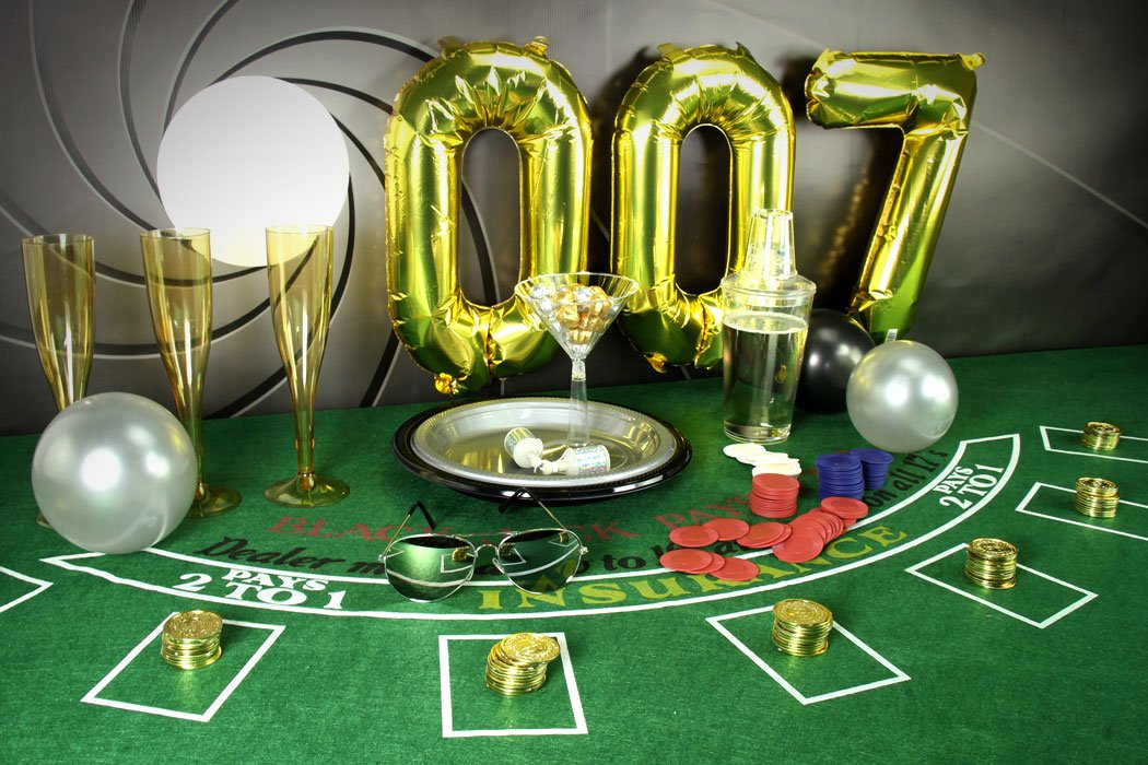 James bond party ideas 007 party theme party delights blog for 007 decoration ideas