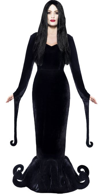 addams family costume ideas party delights blog. Black Bedroom Furniture Sets. Home Design Ideas