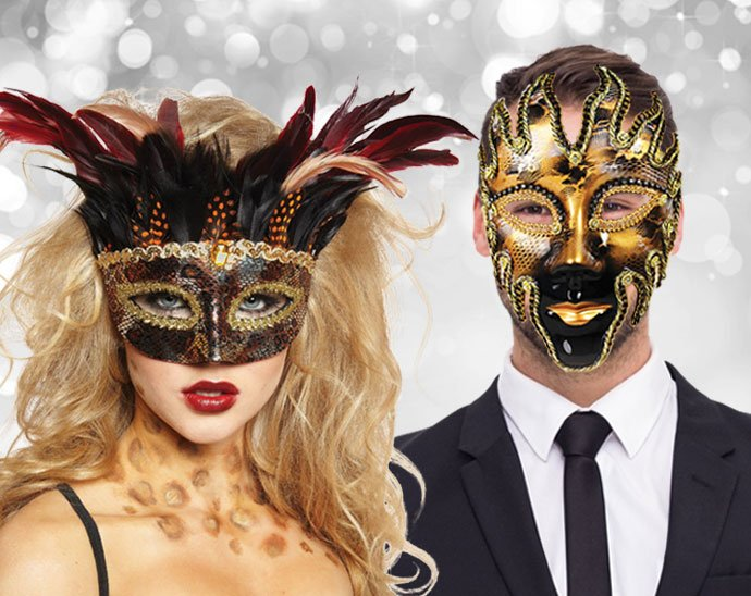 Christmas Masquerade Ball Party Theme