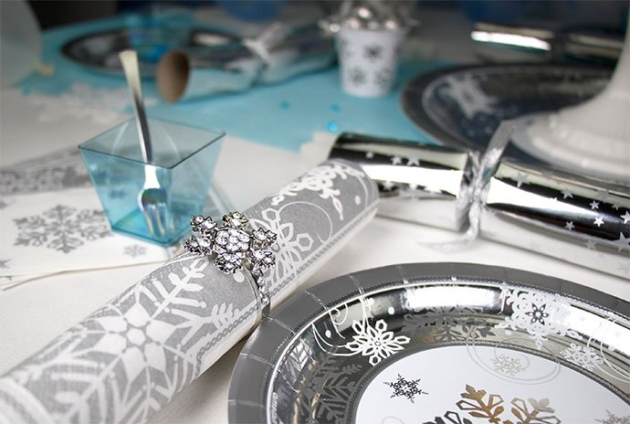 Snowflake Themed Party Supplies