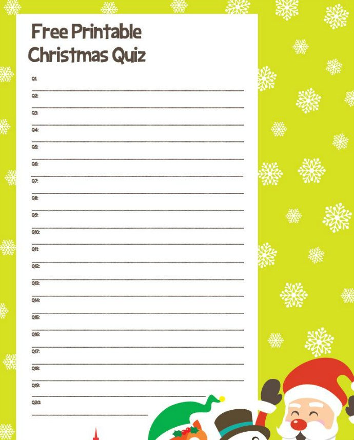 christmas quiz answer sheet screenshot - Halloween Trivia With Answers