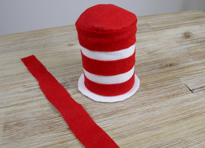 DIY Cat in the Hat Costume - Step 5