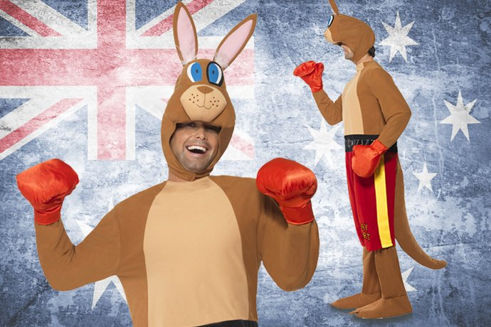 Aussie Costume Ideas - Kangaroo