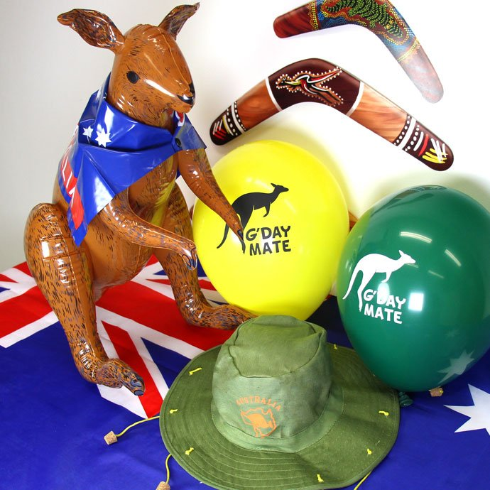 Australia day party ideas party delights blog for Australia day decoration
