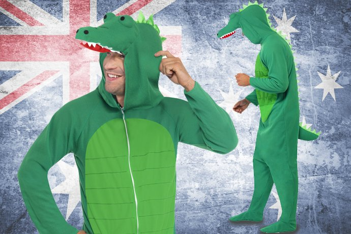 Australian Costume Ideas - Crocodile