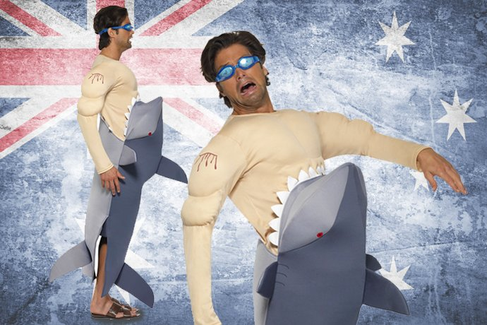 Australian Fancy Dress Ideas - Shark
