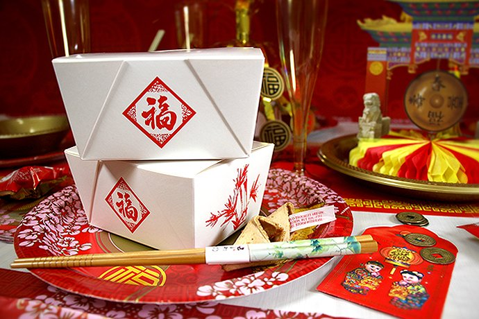 Chinese New Year Food Boxes