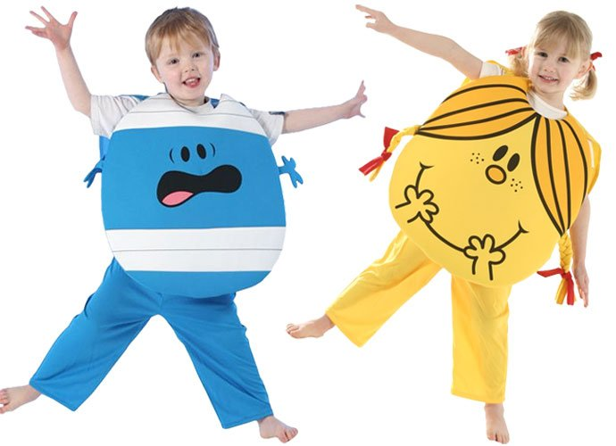 Mr Men & Little Miss Costumes