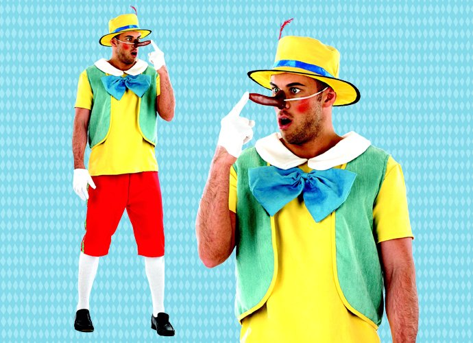 Pinocchio Book Character Costume for Adults