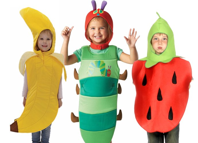 Very Hungry Caterpillar Costumes