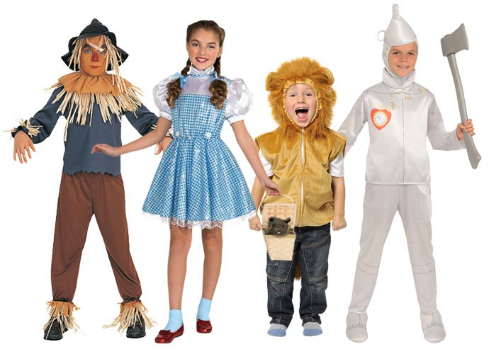 Wizard of Oz Group Costume  sc 1 st  Party Delights Blog & Book Character Costume Ideas for World Book Day 2017 | Party ...