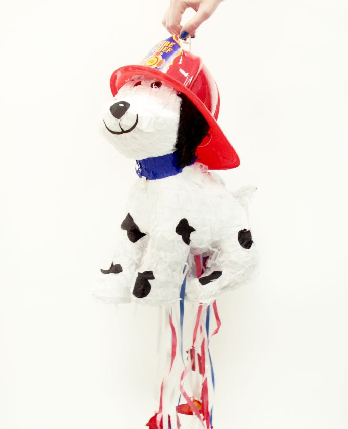 Fire Chief Dog Pinata