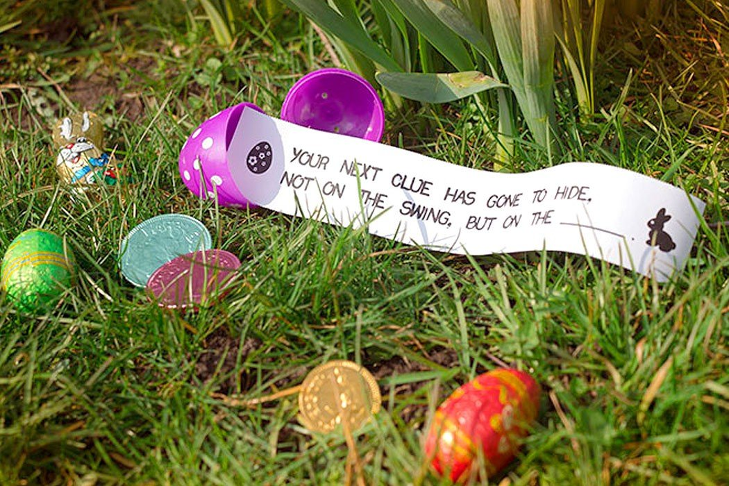 It wouldn t be easter without an easter egg hunt but coming up