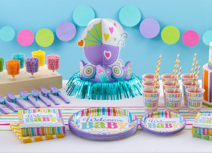 browse gender neutral baby shower supplies woodland baby shower theme