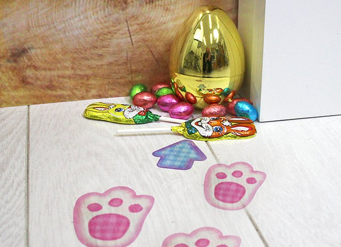 Indoor Easter Egg Hunt