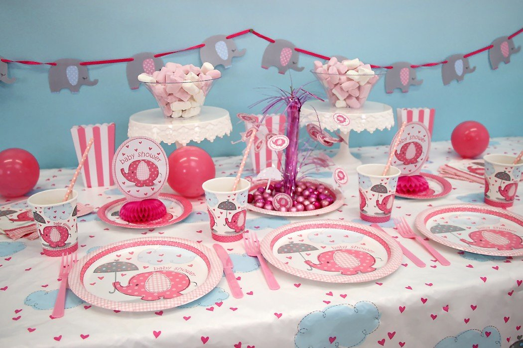 Elephant baby shower ideas party delights blog for Baby shower dekoration