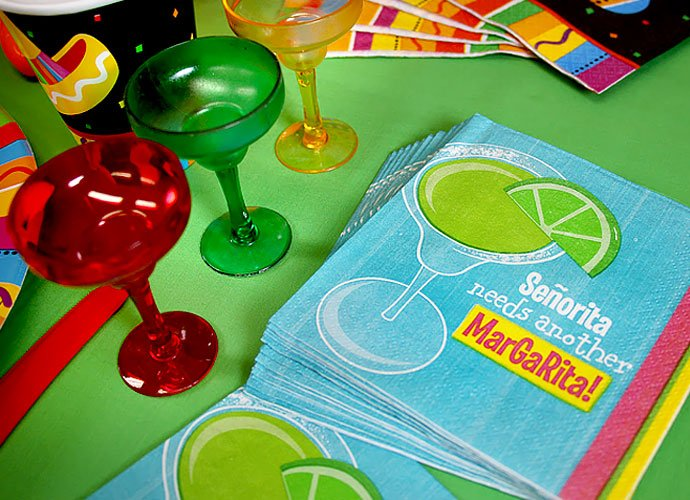 Mexican Fiesta Party Napkins