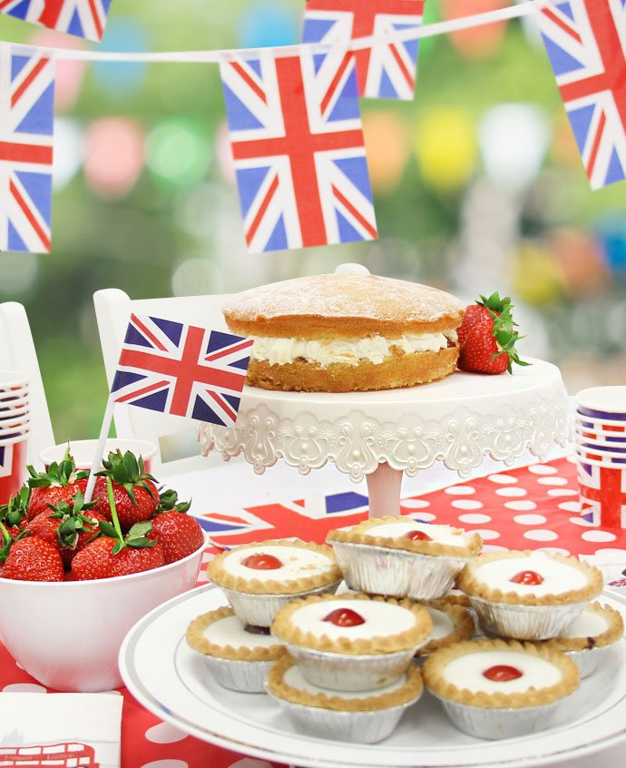 Union Jack Party Food Ideas