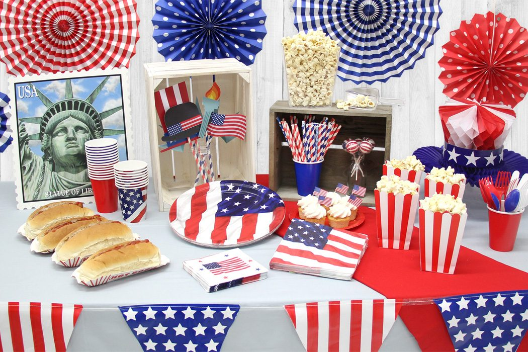 How to throw a star spangled 4th july party party for 4th of july party decoration