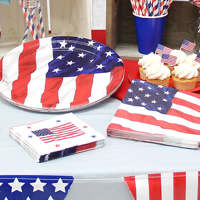 4th July Party Supplies