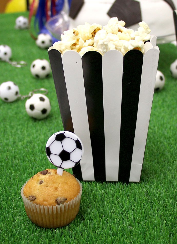 Football Party Popcorn Boxes