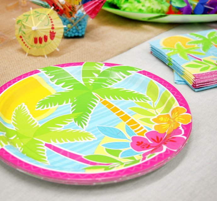 Tiki Tastic Hawaiian Party Ideas Party Delights Blog