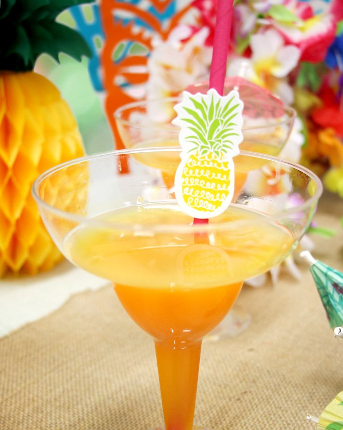 Pineapple Cocktail Decorations