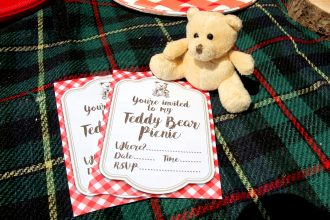 Free Printable Teddy Bear Picnic Invitations