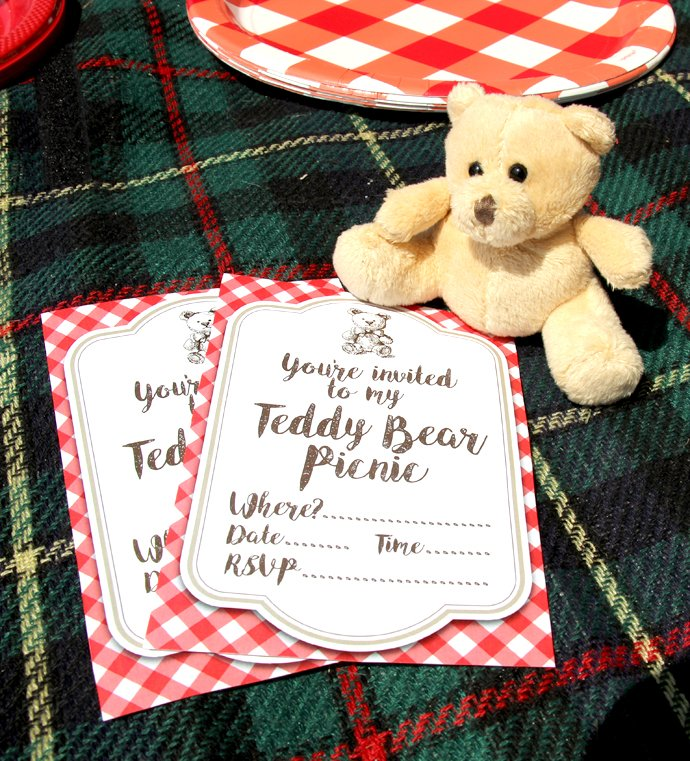 Children S Birthday Party Food Spread Berkshire England: Teddy Bear Picnic Party Ideas