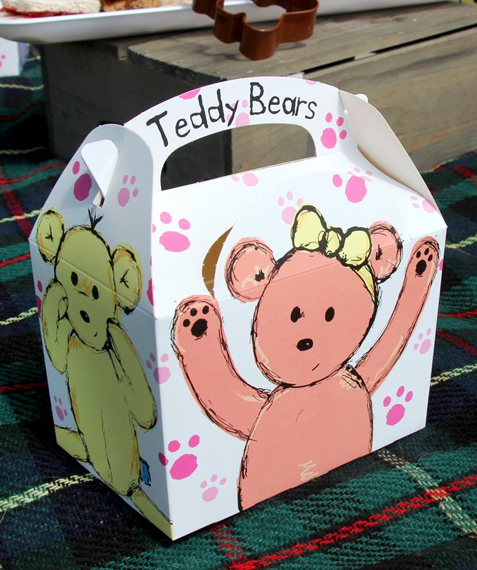 Teddy Bear Party Boxes