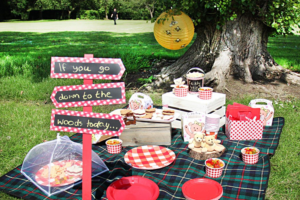 teddy bear picnic party ideas party delights blog ForPicnic Food Ideas For Large Groups