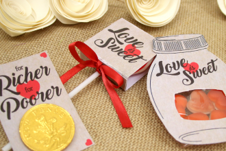 Vintage Wedding Favours - Easy DIY