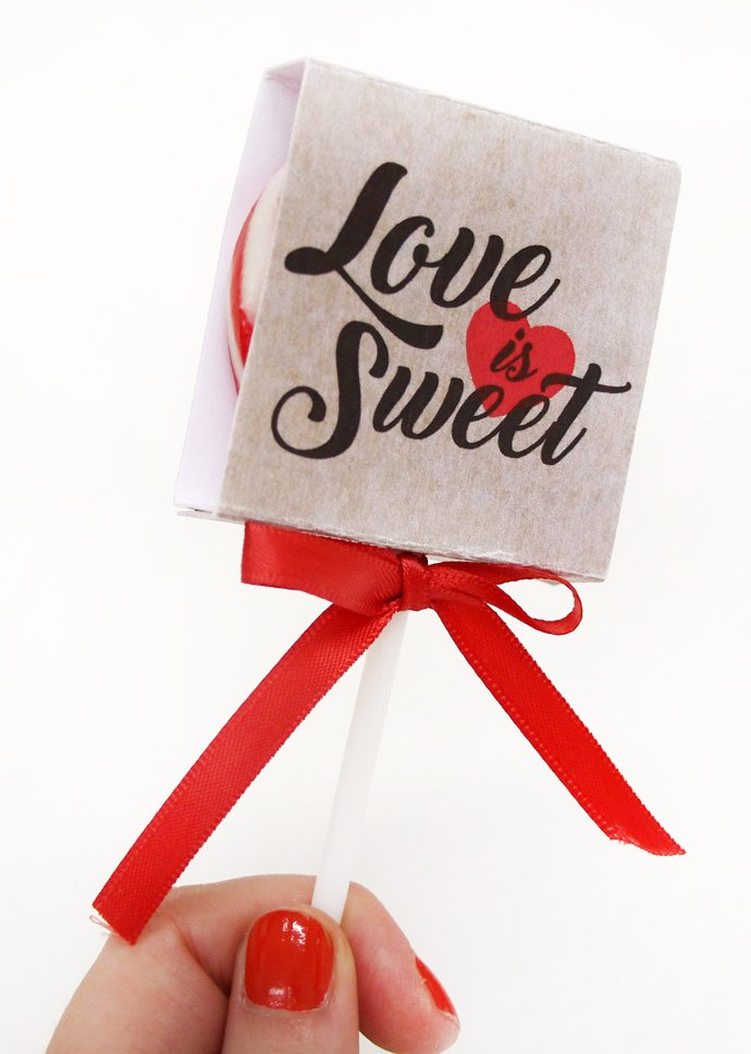 Vintage Wedding Favours - Lollipop Covers