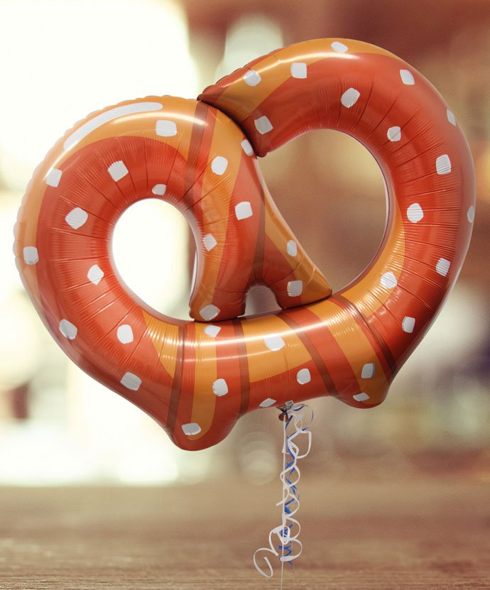 Pretzel Balloon