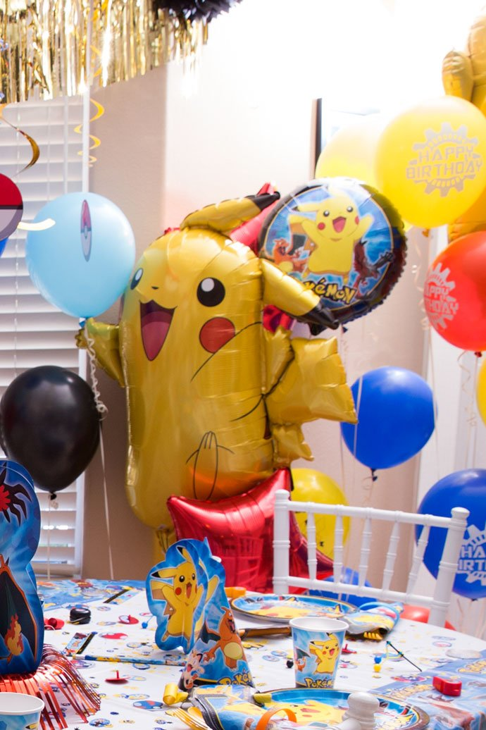 Pokemon Pikachu Balloon