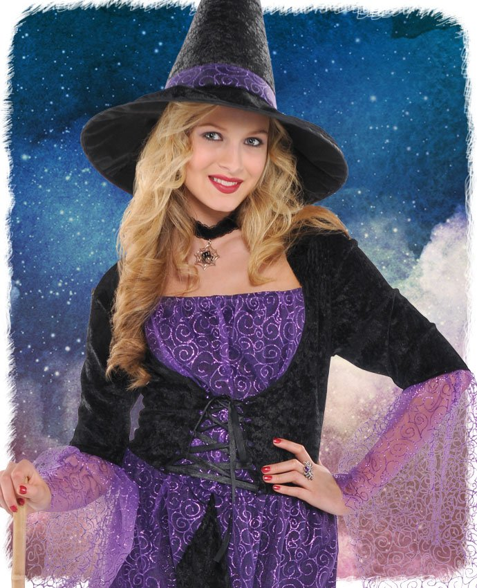 Pretty Potion Witch Costume for Women