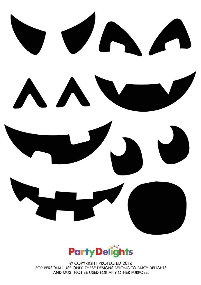 Pumpkin Party Bag Printables