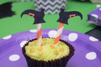 Witch Cupcakes for Halloween