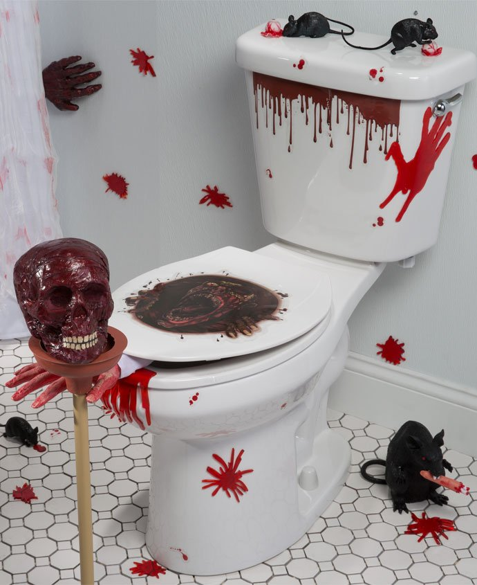 Zombie party ideas party delights blog for Decoration zombie