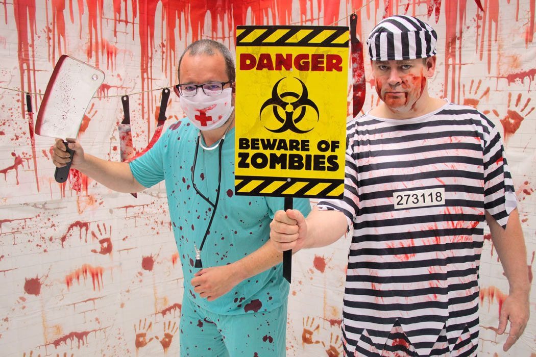 Zombie Photo Booth Ideas