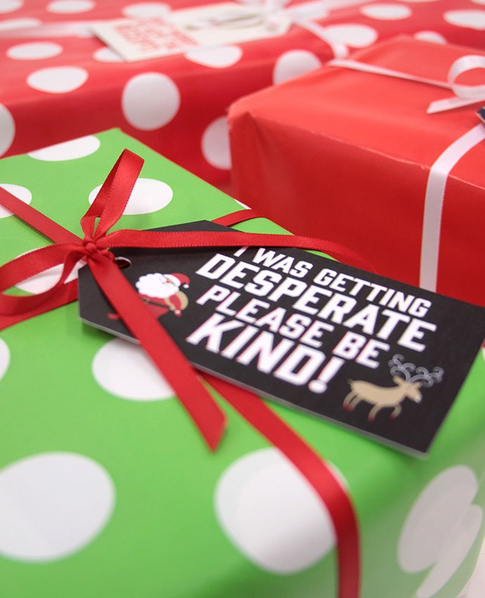 Free Printable Honest Christmas Gift Tags