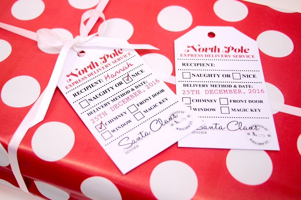 Free printable santa gift tags party delights blog free printable santa gift tags negle Gallery