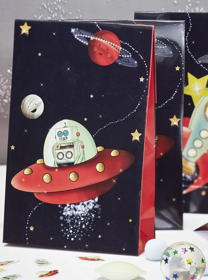 Outer Space Party Bags