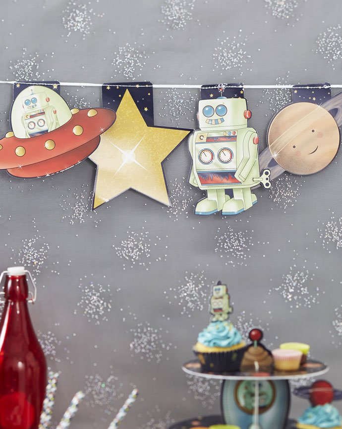 Outer Space Party Bunting